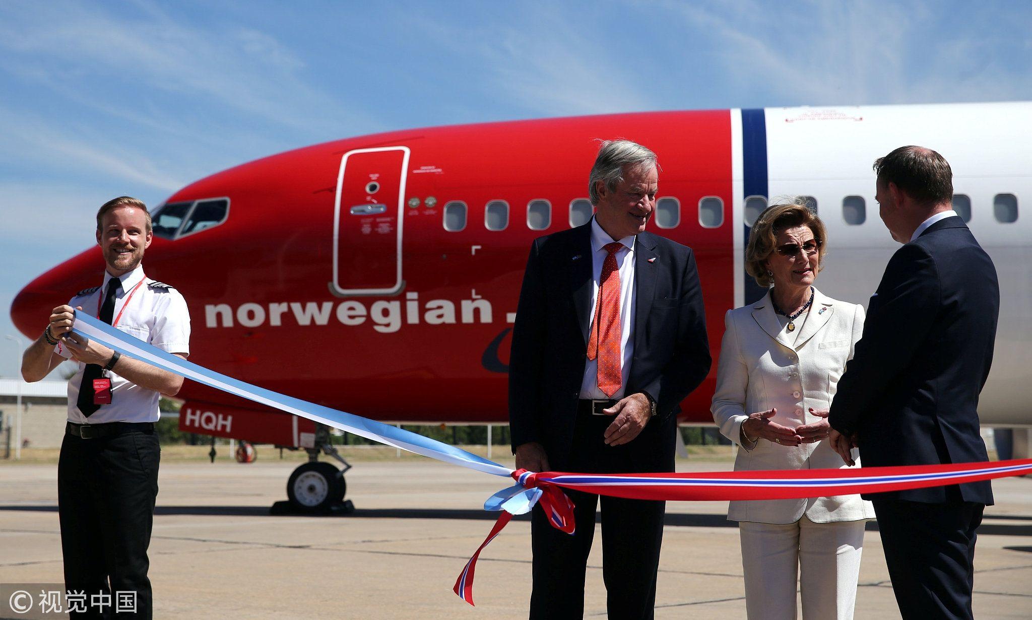 挪威波音客机备降伊朗后滞留一月 全因美国制裁