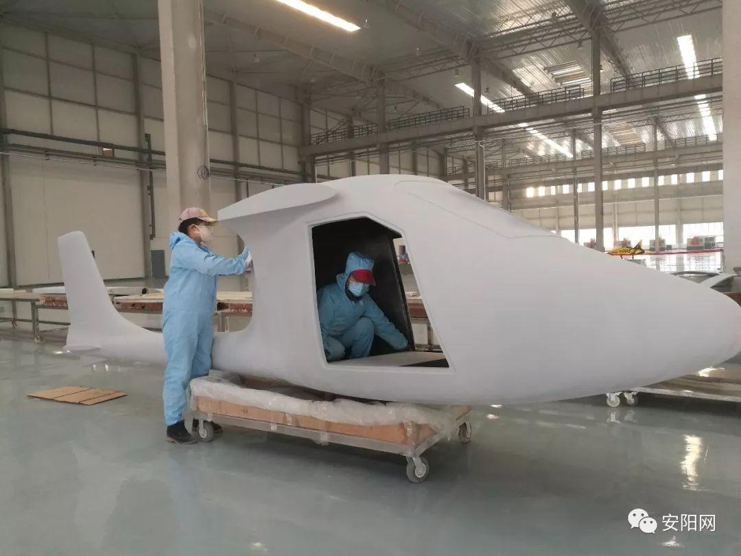 河南首架具有完整自主常识产权的飞机即将下线