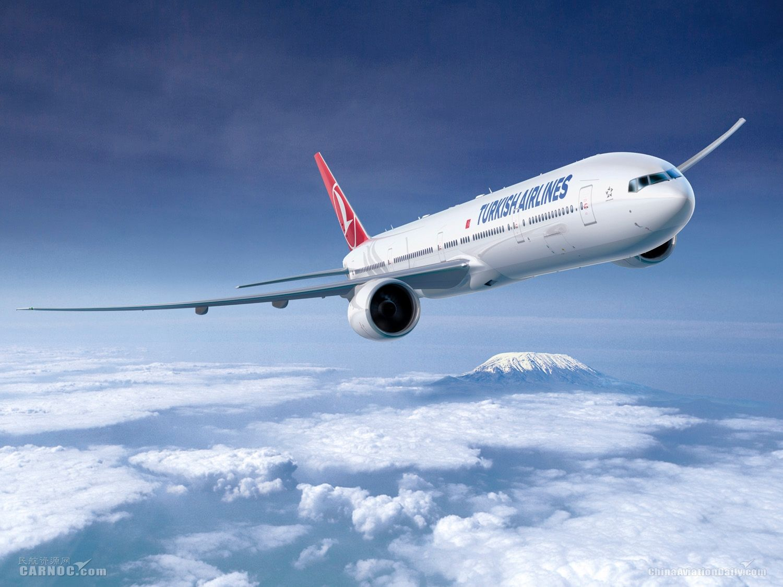 土耳其航空2018年12月上座率达80.2%