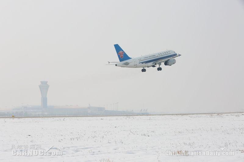 合肥机场重点保护冰雪天气下导航设备安全