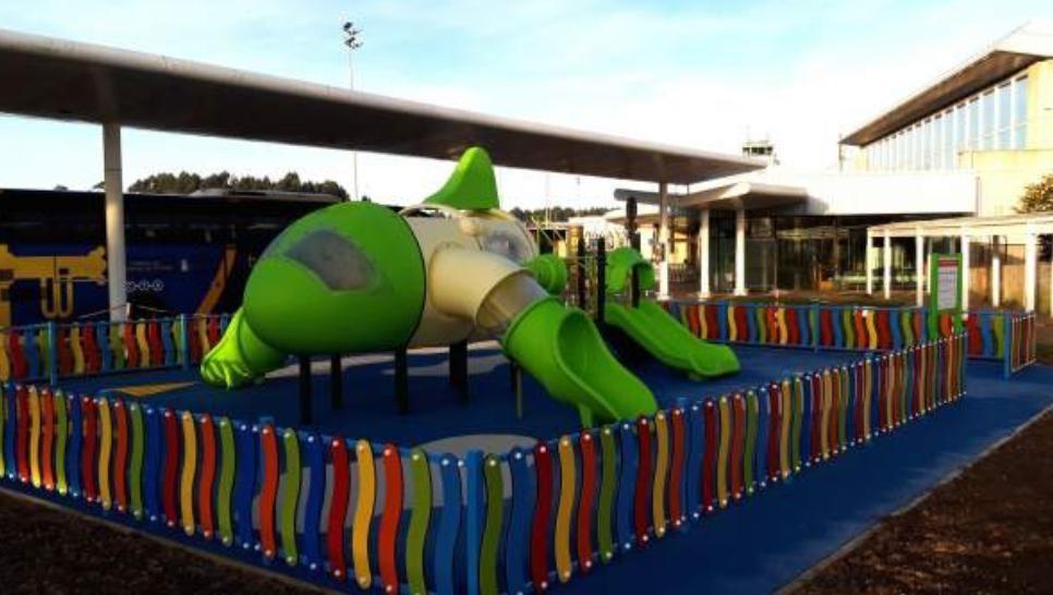 西班牙阿斯图里亚斯机场建造儿童游乐场