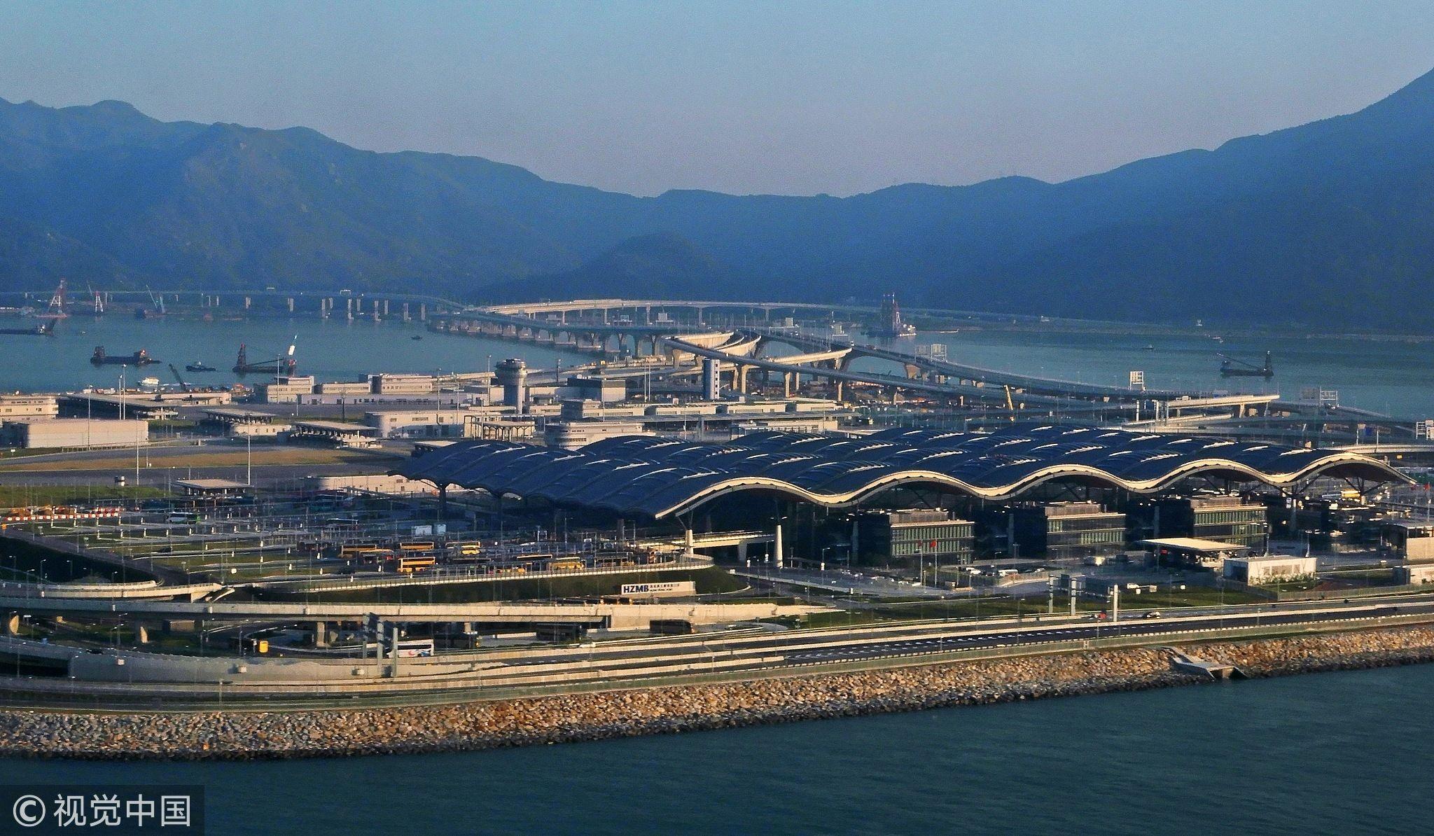 港机管局:经高铁、港珠澳大桥赴港转机旅客增多