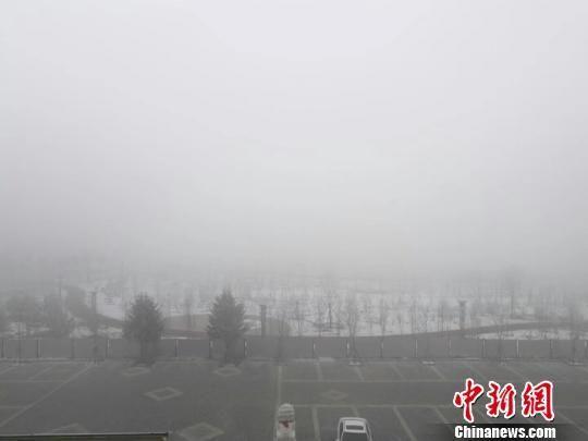 哈尔滨现大雾天气 高速封闭、航班推迟起飞