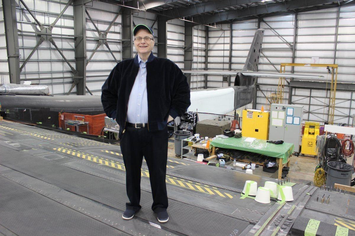 世界最大飞机Stratolaunch制造商