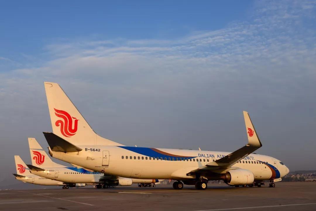 大连航空新增杭州-大连、大连-温州往返航班