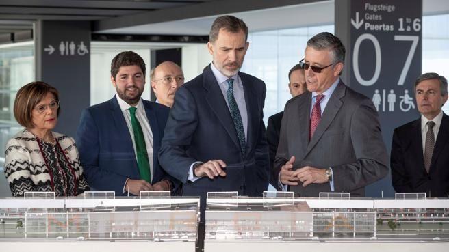 西班牙穆尔西亚机场在关闭7年后重新开始运营