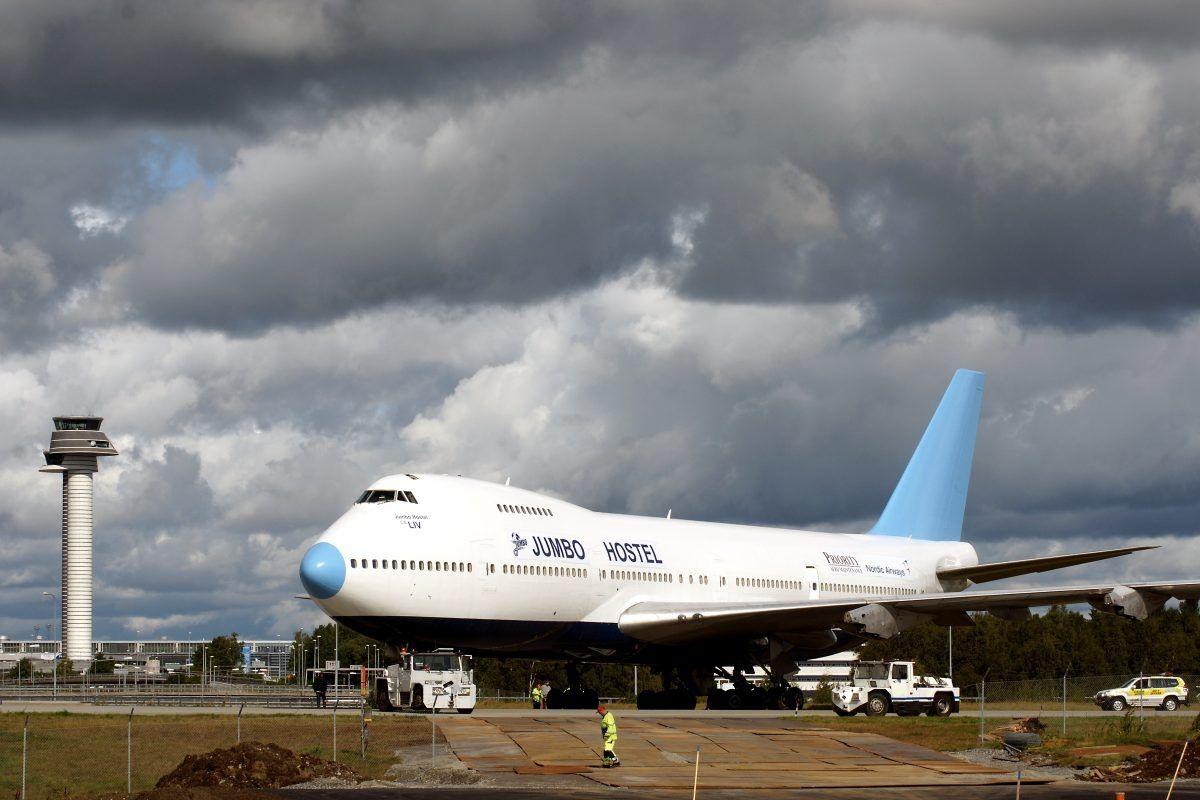 瑞典推出波音747豪华酒店 驾驶舱变身豪华套房