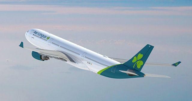 民航早报:爱尔兰航空采用新涂装的A330亮相