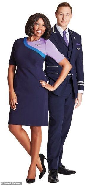 美图抢先看!美联航7万名前线员工将获新制服