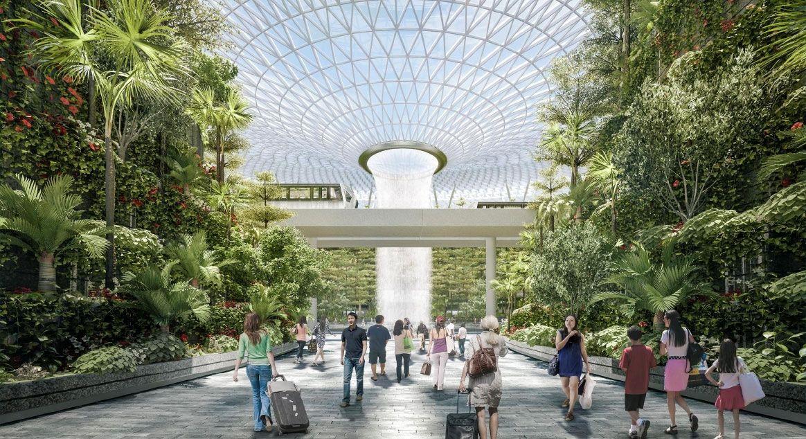 樟宜机场新地标 成了中转旅客的旅游目的地