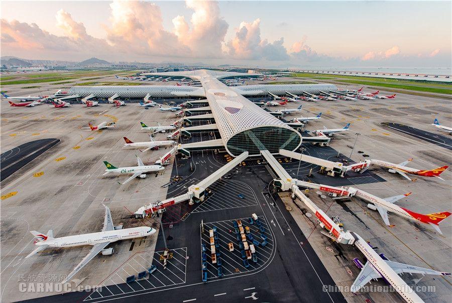 深圳机场千余架次航班1分钟即可完成机位分配