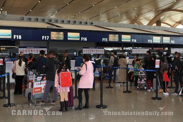 """泰国""""宋干节""""期间 昆明机场出入境人数超7万人次"""