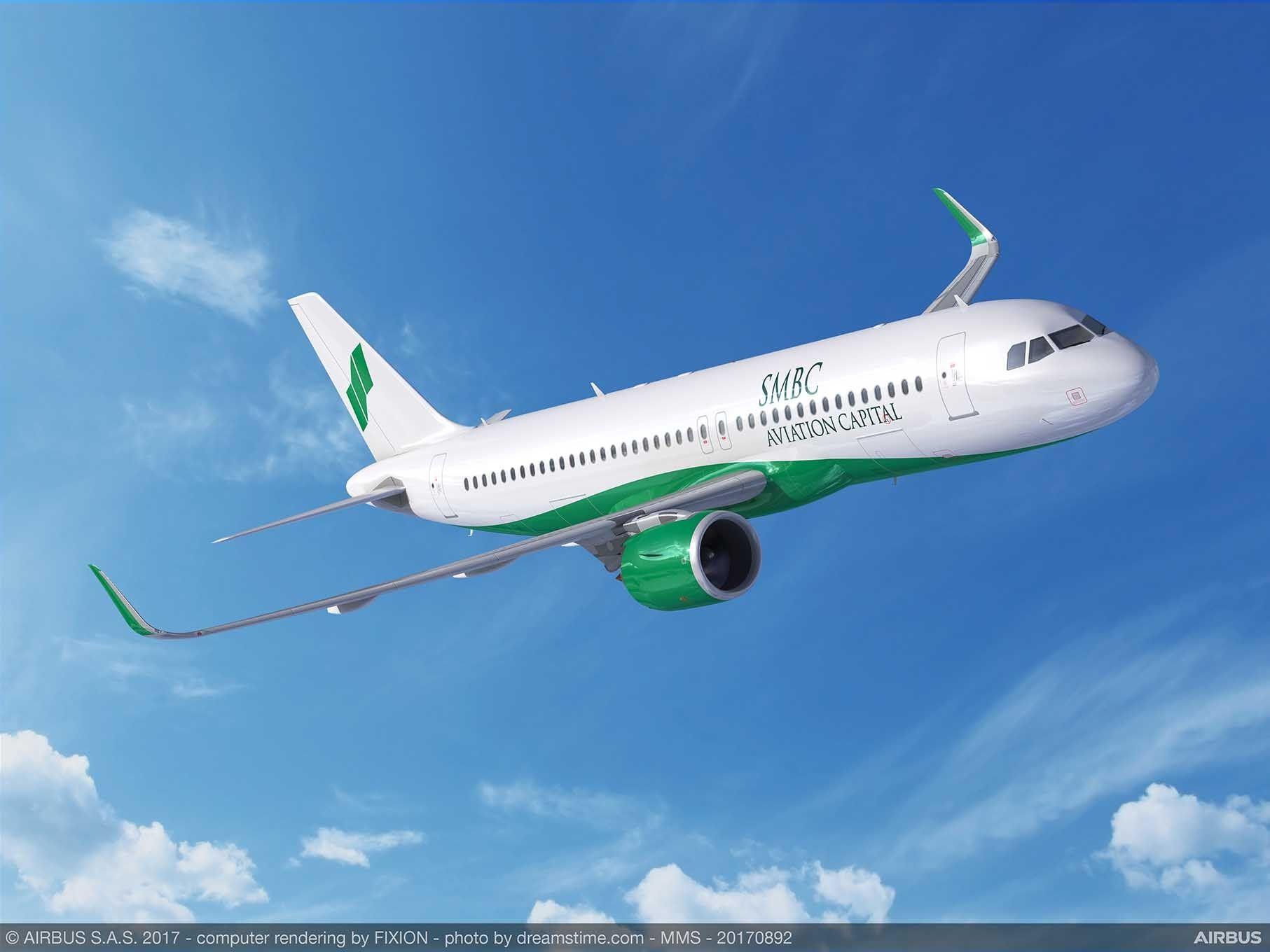 SMBC航空资本订购65架A320neo系列飞机