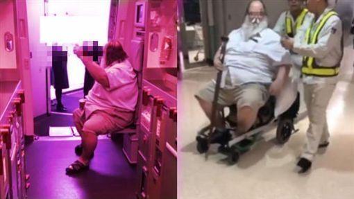 外籍男乘客要求中国空姐帮擦屁股 长荣航空回应!
