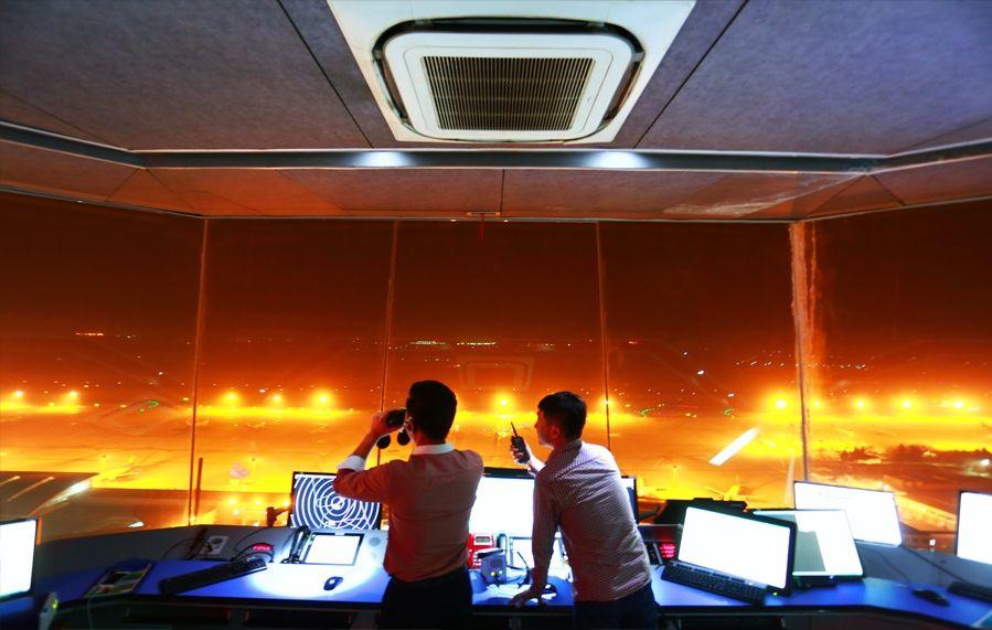 春运首日咸阳机场始发航班正点率100%