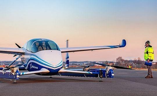 波音成功试飞自动驾驶空中出租车