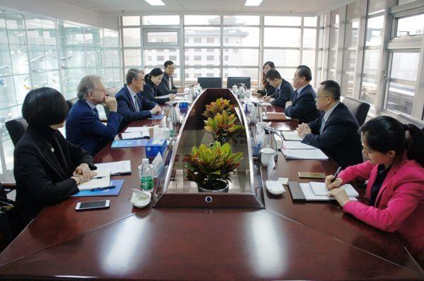 中国航协、国际航协就深化两会合作达成共识
