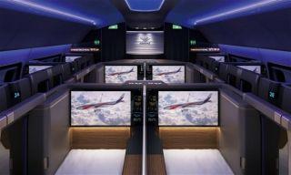 未来的飞机长啥样?就连厕所都拥有多元文化空间