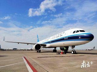 春运期间能上wifi的飞机 今天南航又来了一架!
