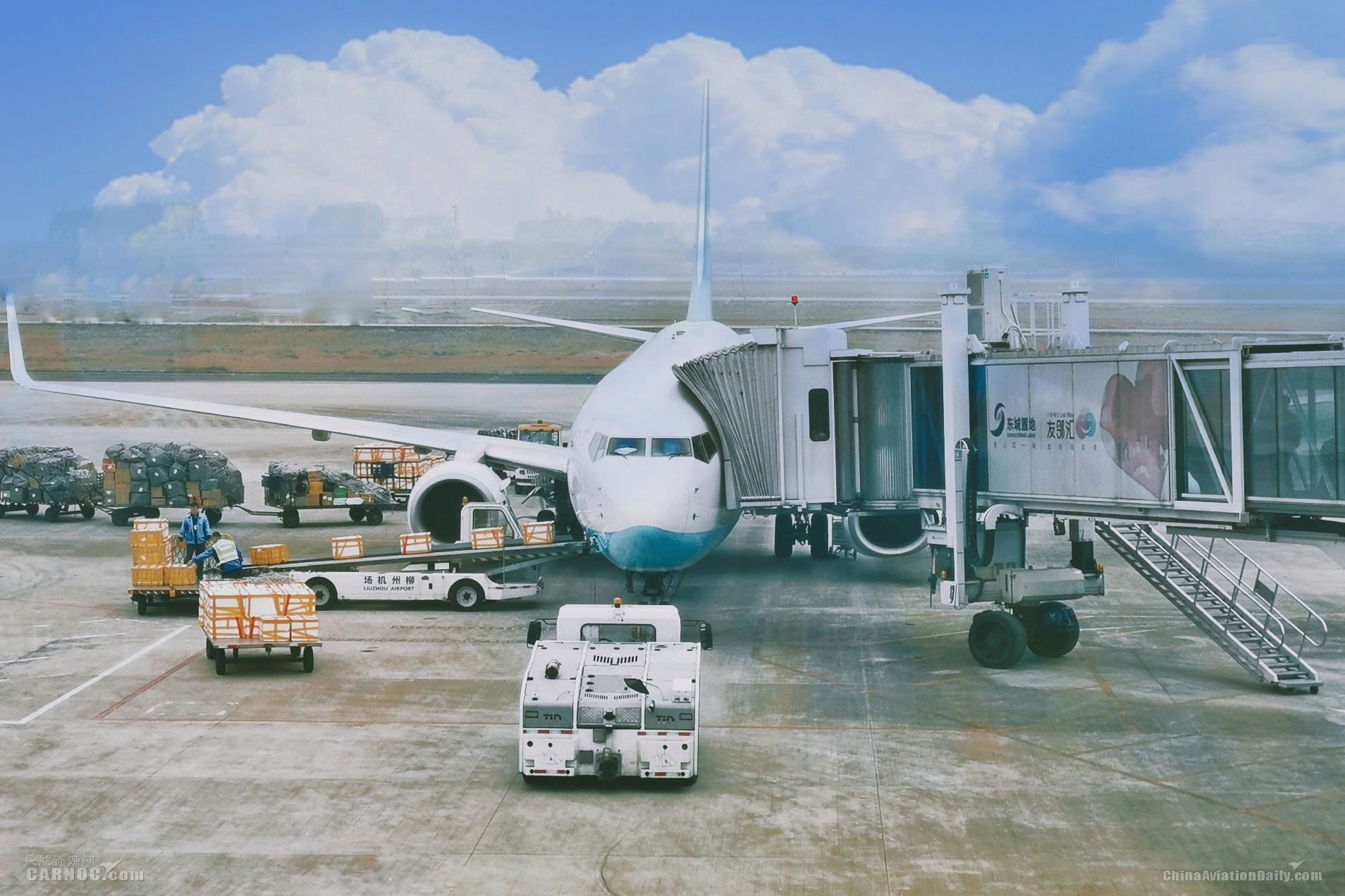 797吨!柳州机场1月货邮吞吐量创新高