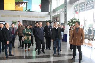 副市長劉朝陽率隊檢查景德鎮機場春運工作