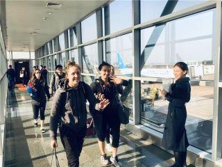 加拿大国家女子曲棍球队点赞厦航服务