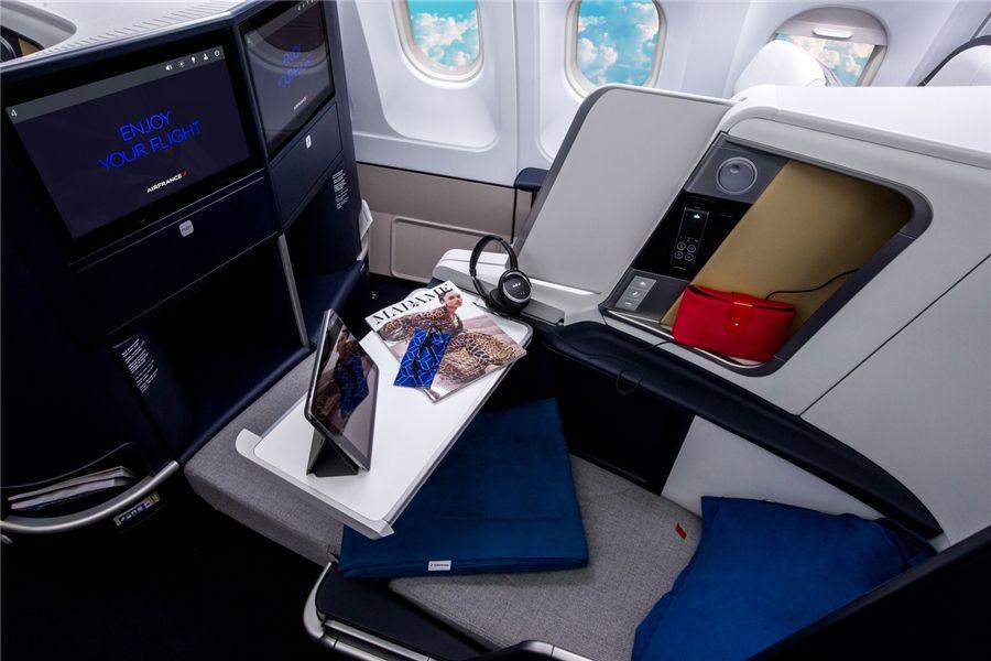 图集:法航推出全新A330飞机内饰