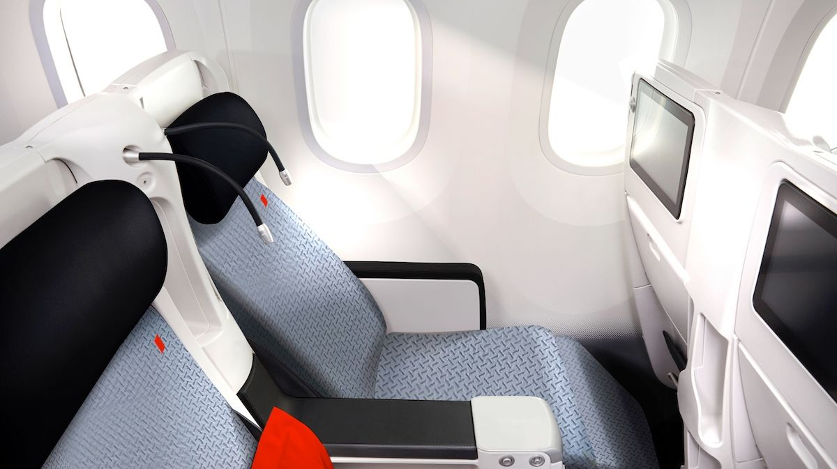 图片 图集:法航推出全新A330飞机内饰