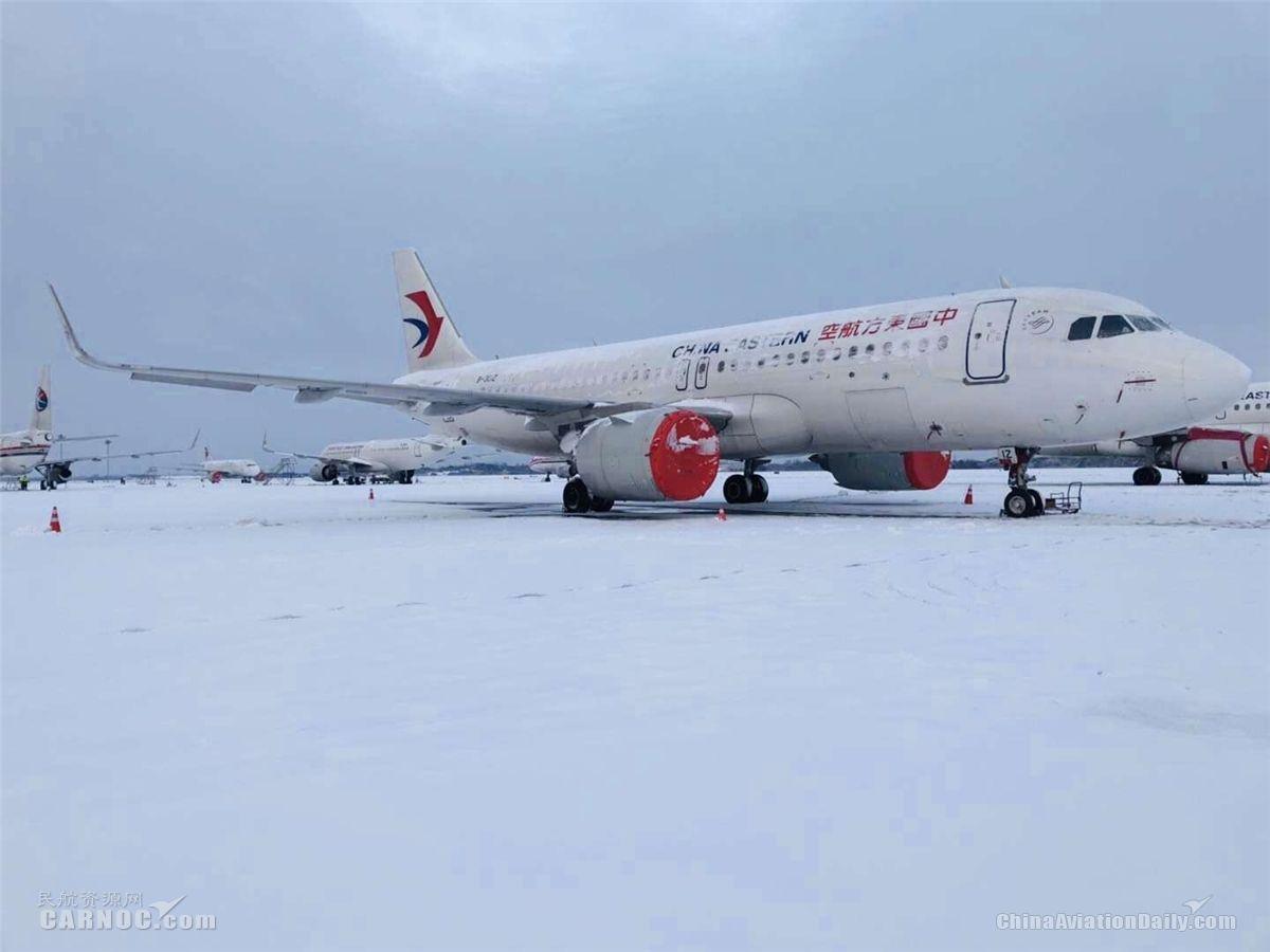 受降雪影响 东航江苏取消29个航班