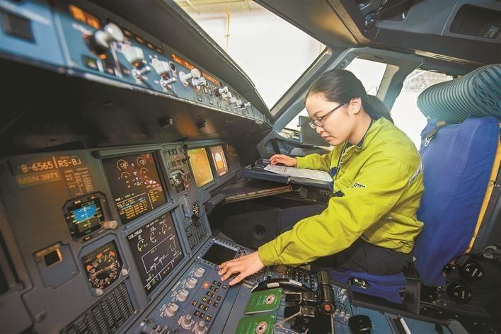萌妹子也能修飞机 深航有支木兰班组