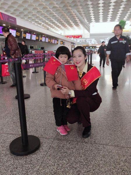 飞航地服竭力保障女童紧急寻找父母