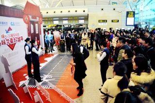 华夏航空联动11家支线机场温暖旅客回家路