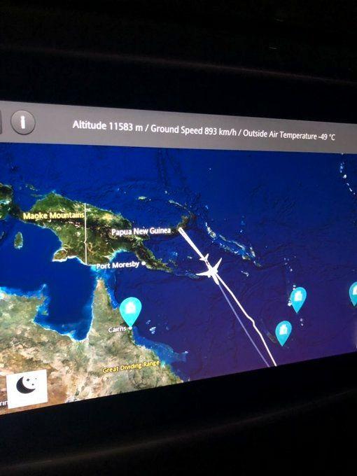 飞机无落地许可 新西兰航空飞上海航班中途返航
