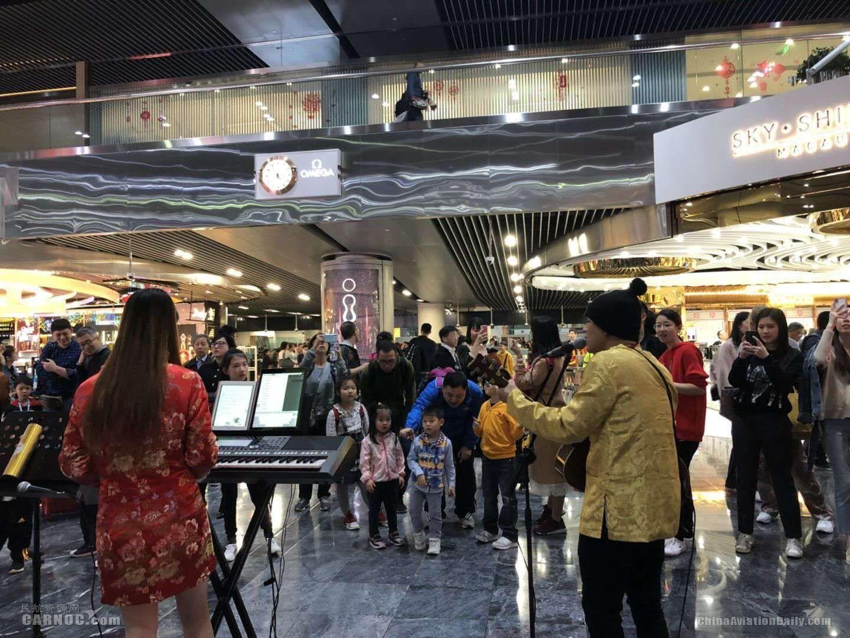 春节澳门机场运送旅客超18万人次 同比上涨18%