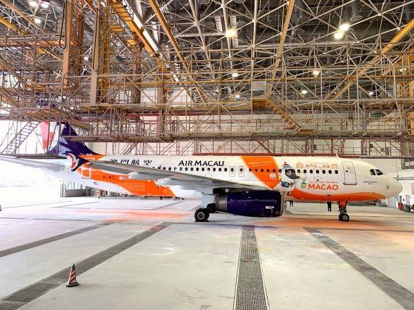 Ameco成都分公司为澳门航空完成空客飞机交付检