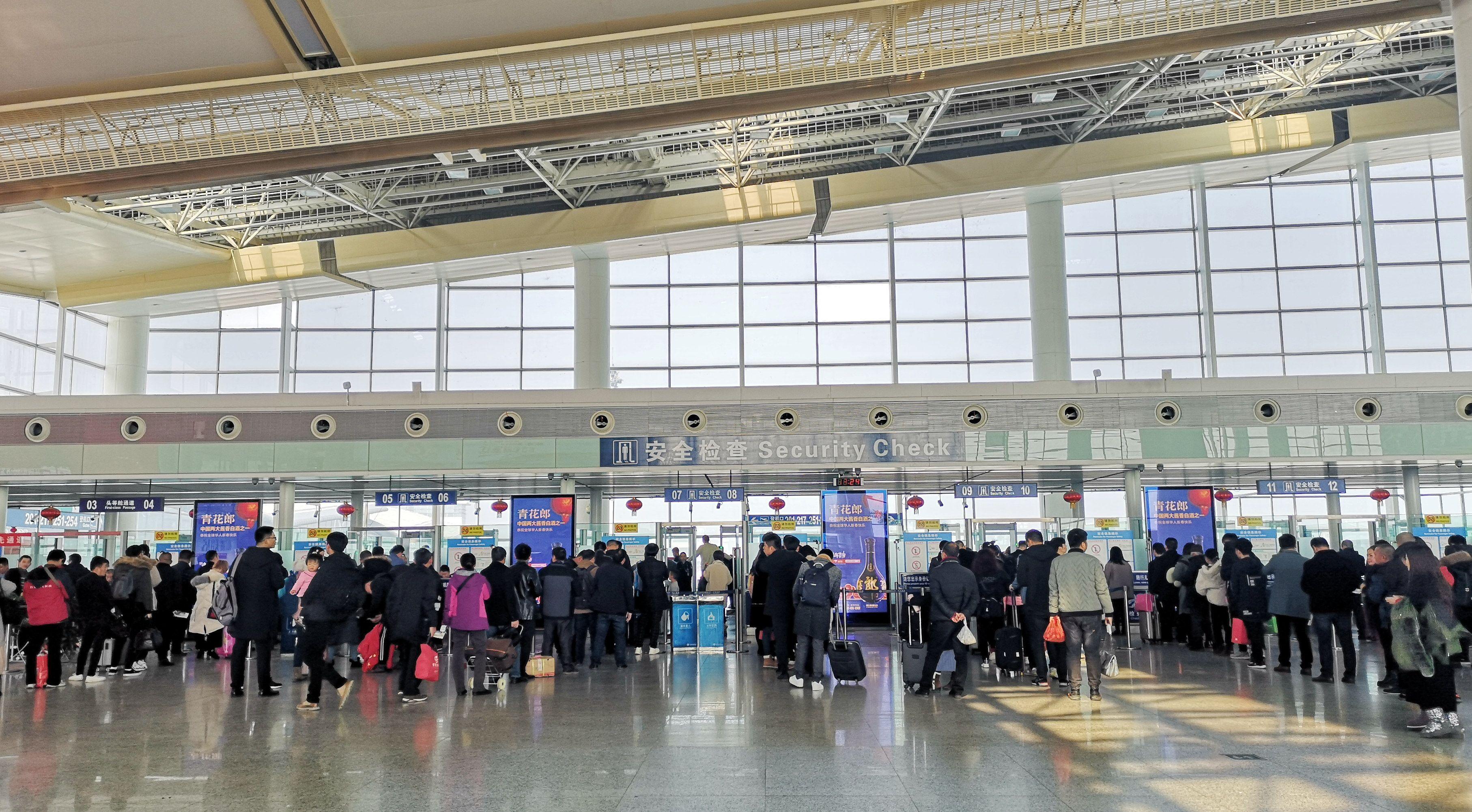 南昌机场春节黄金周保障旅客29.6万人次