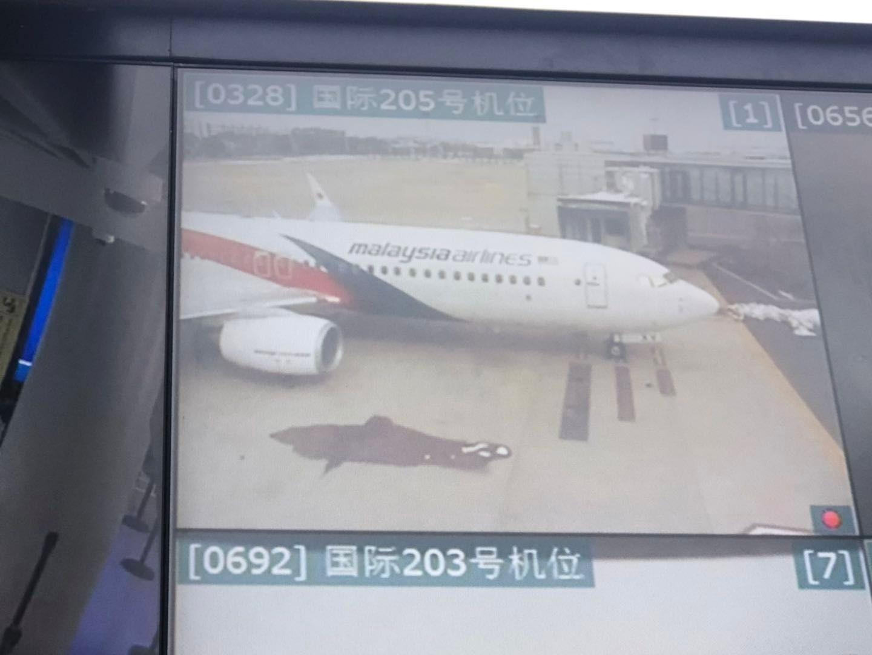 马航机长摔伤取消南京至吉隆坡航班 150人办退关