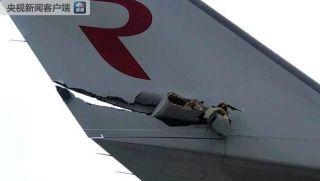 俄罗斯伏努科沃机场两客机相撞 无人员伤亡