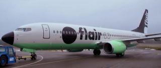 加拿大超低成本航司Flair航空飞机新涂装亮相