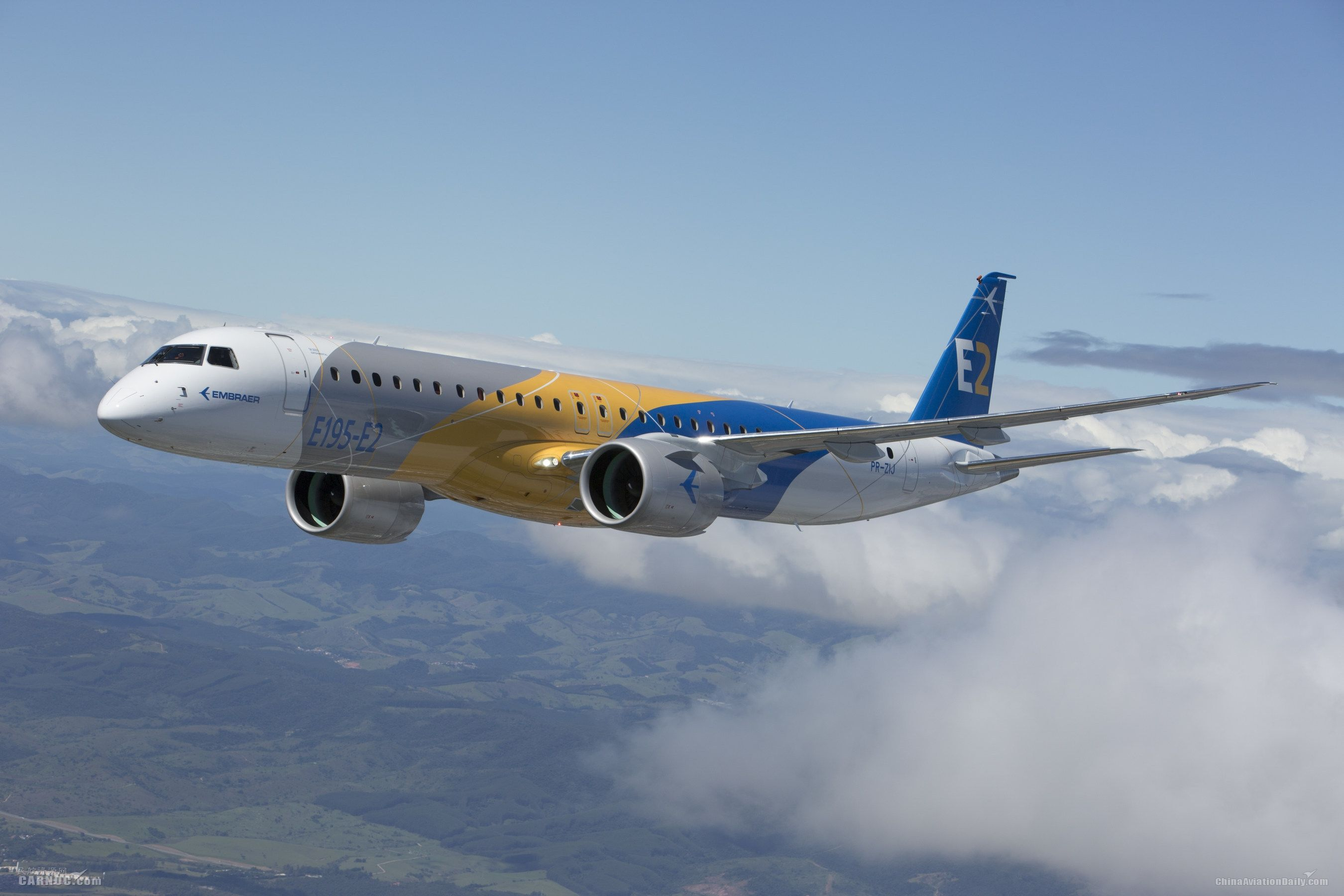 E195-E2分获巴西民航局、FAA、EASA认证
