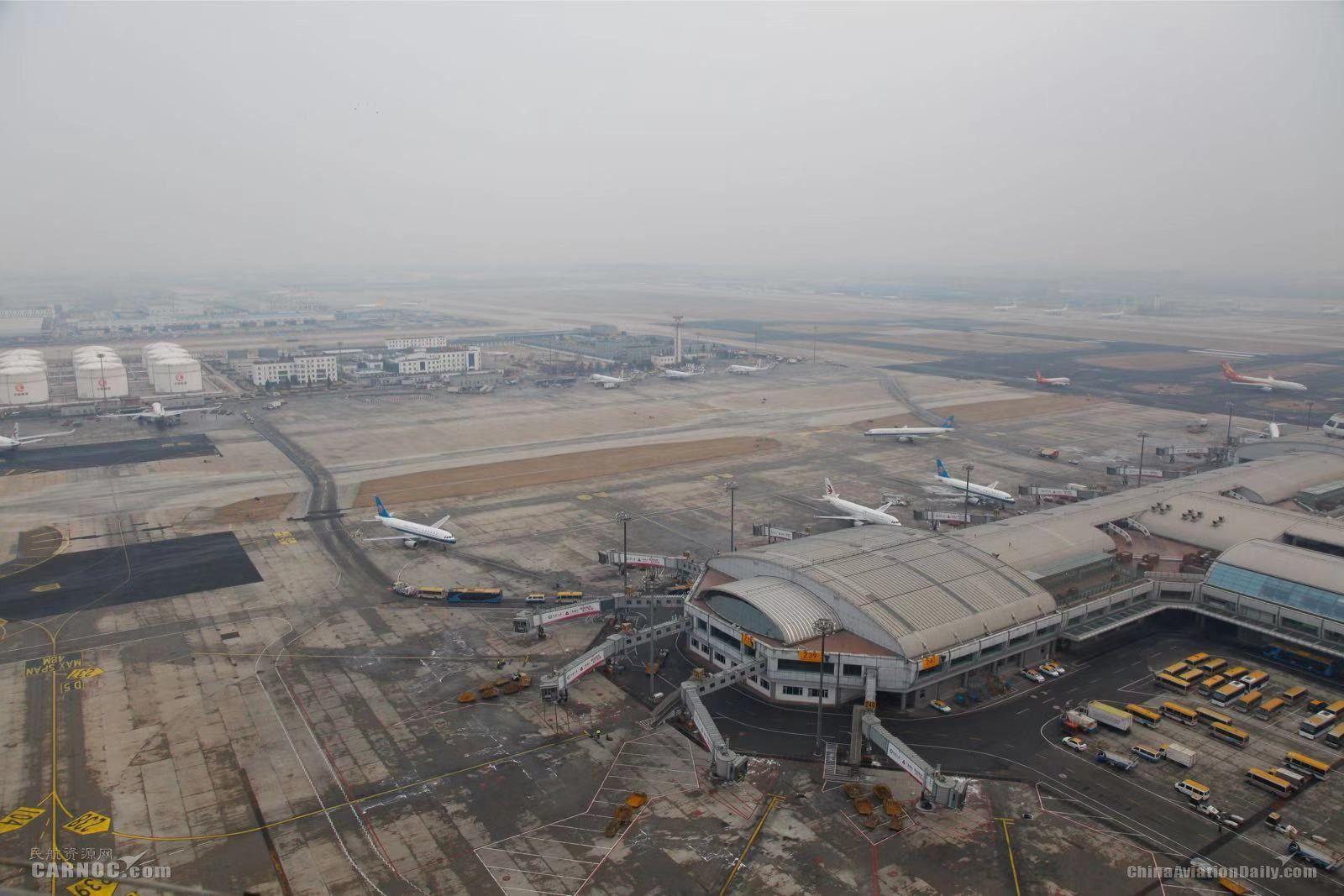 首都机场今日再迎降雪 目前已取消航班38架次