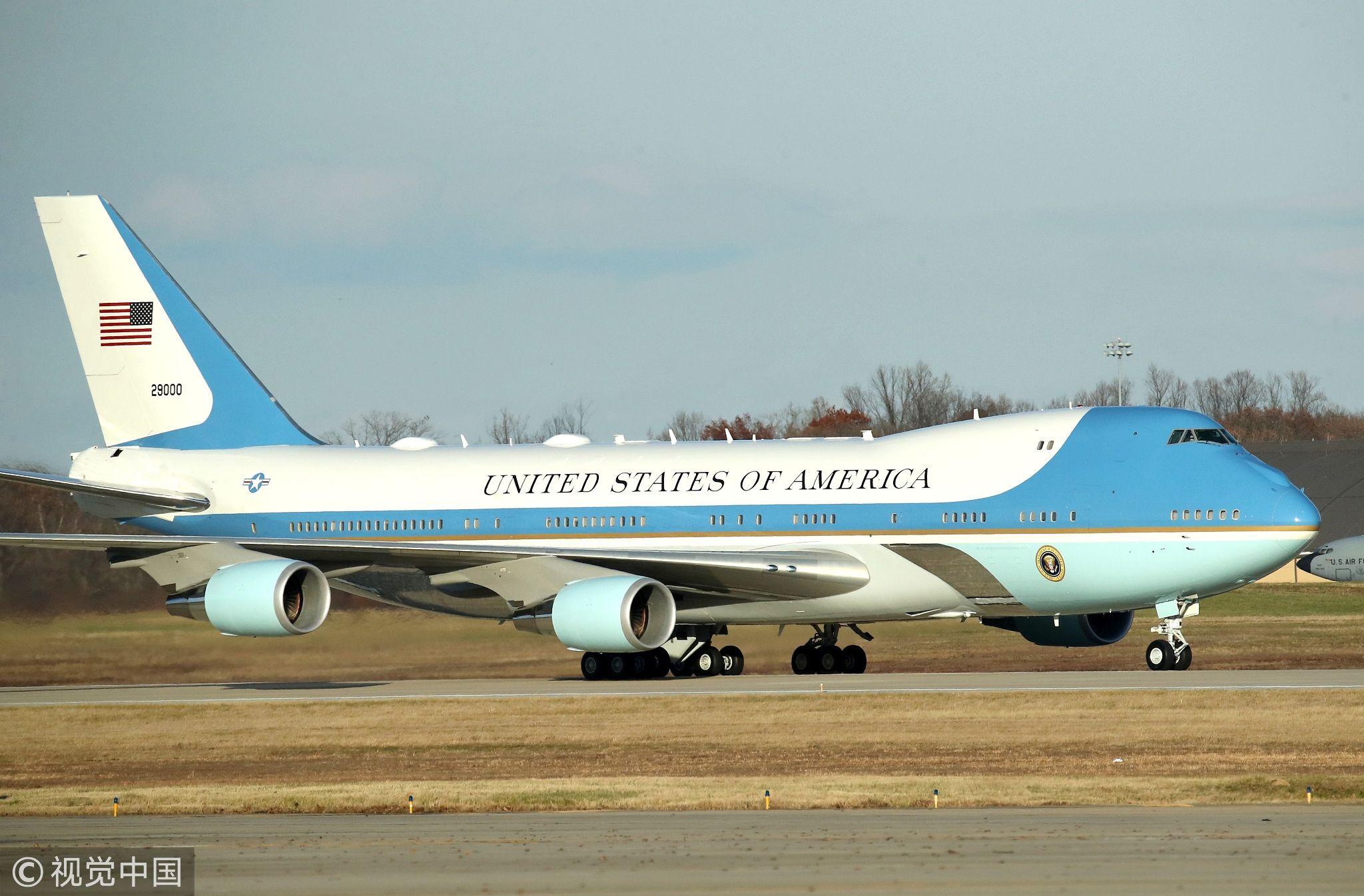 """美国新""""空军一号""""2024年有望交付 仍为波音747"""