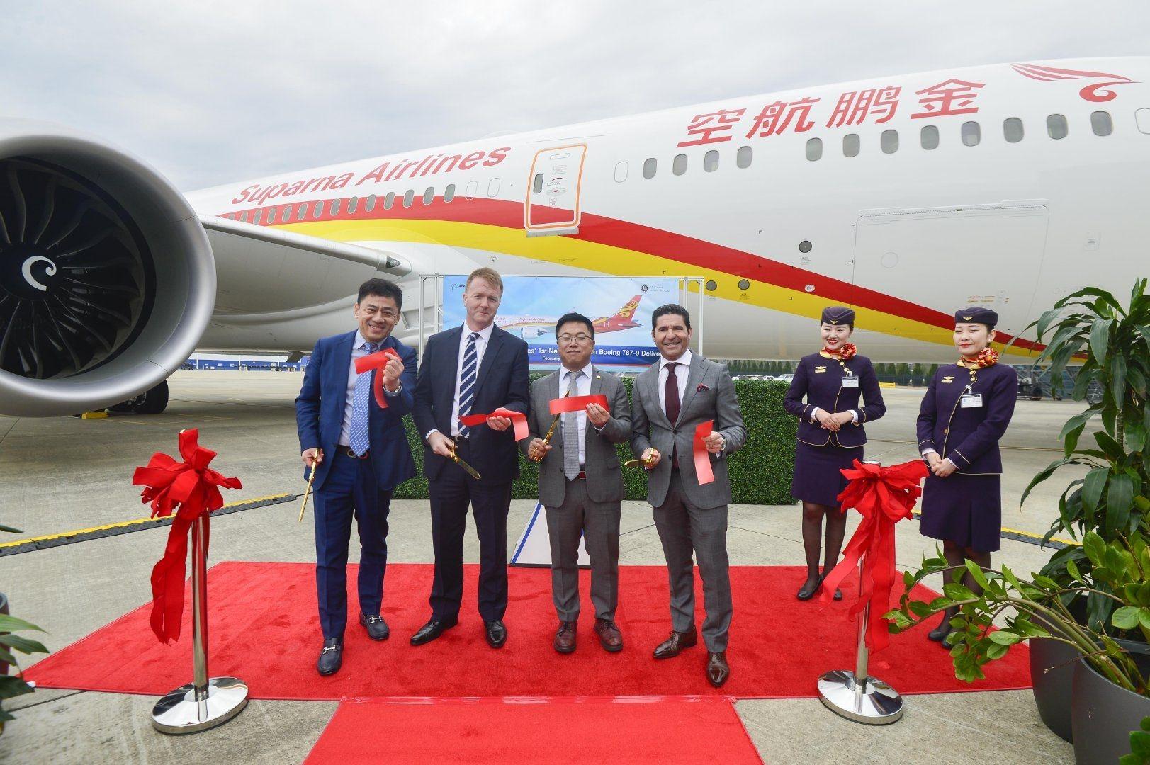 金鹏航空789客机月底开飞上海、三亚、郑州