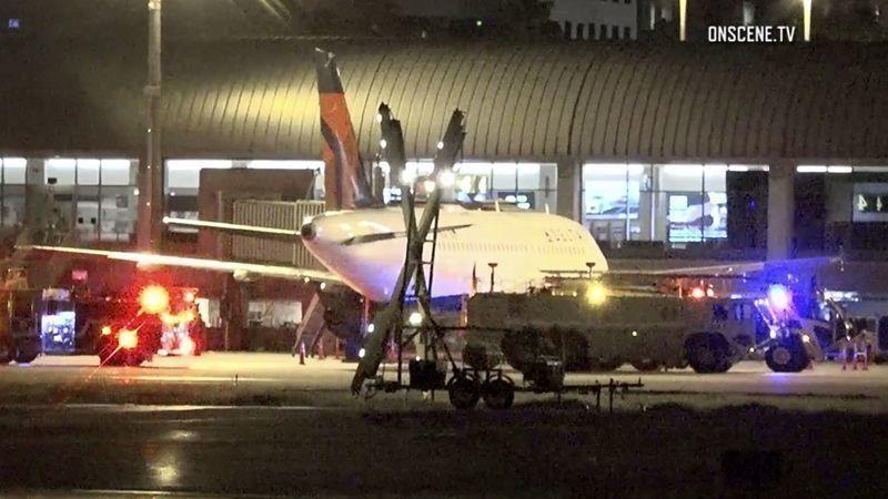美机场廊桥轮胎突然爆炸 一名维修工当场死亡
