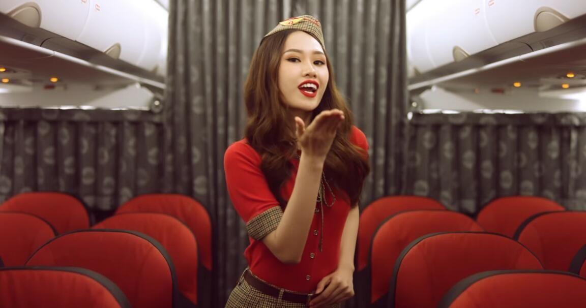 """越捷航空""""Fly for Love""""MV可愛十足 網友:Vietjet女團?"""