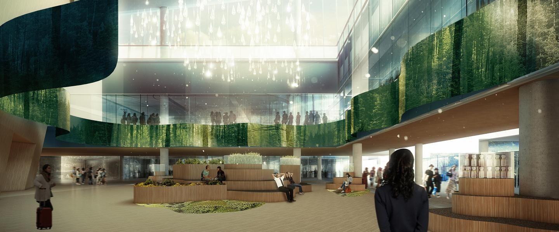 赫尔辛基机场沉浸式数字体验 芬兰美景尽收眼底
