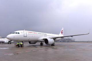 东航江苏公司迎来第65架飞机