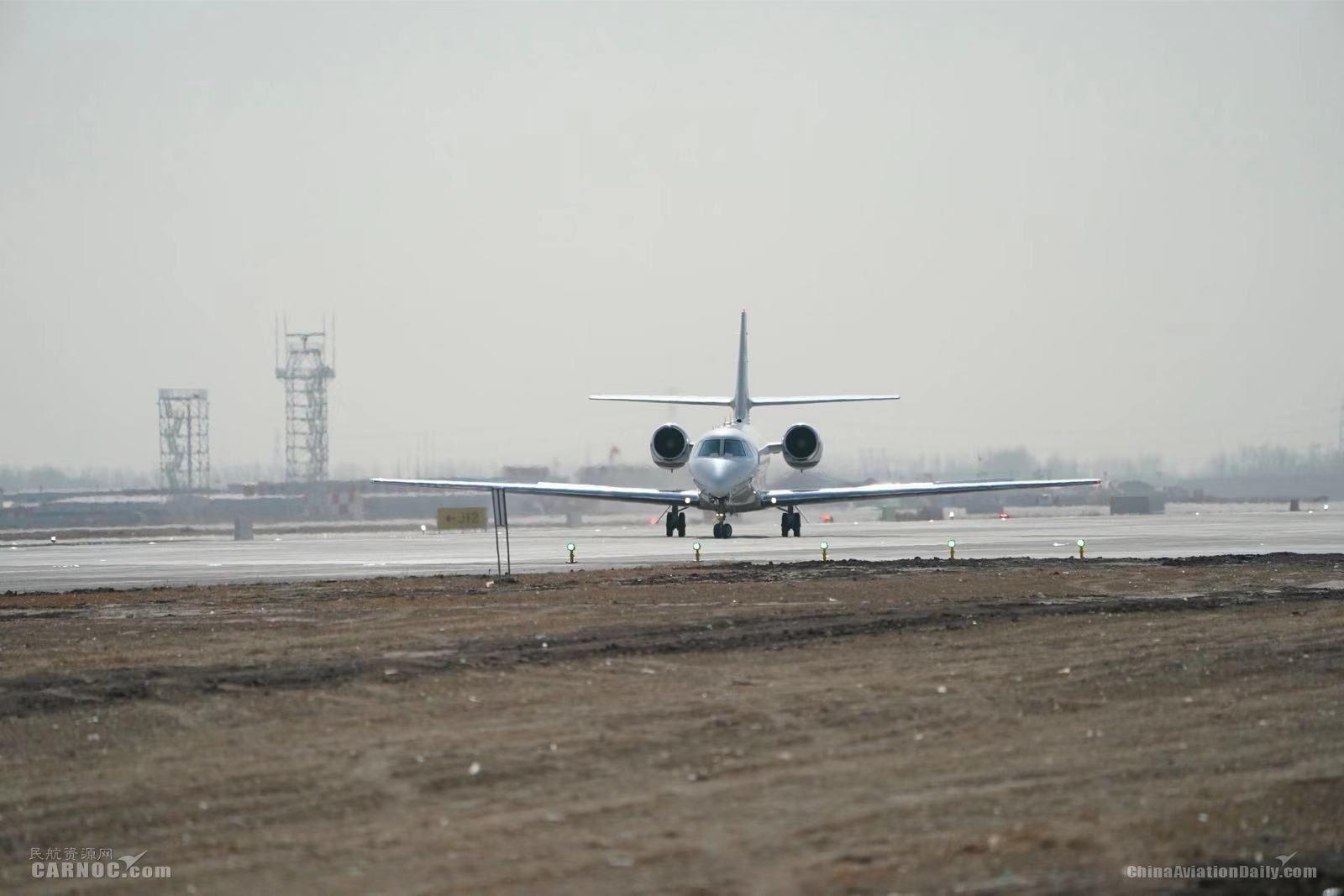 北京大兴国际机场飞行校验工作圆满完成