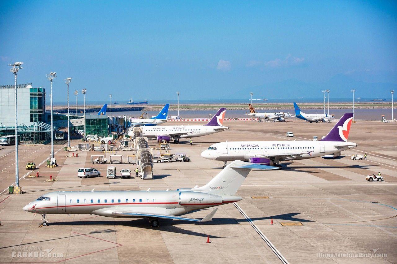 澳门机场积极响应《粤港澳大湾区发展规划纲要》