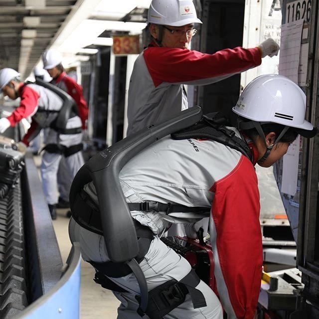 东京机场引入可穿戴动力装置 助员工一臂之力